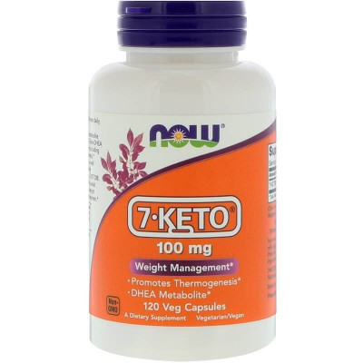 7-Keto 100 mg NOW Foods