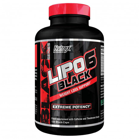 NUTREX Research Lipo 6 Black – 120 Caps US-Version