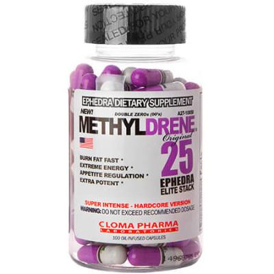 Methyldrene 25 Elite Cloma...