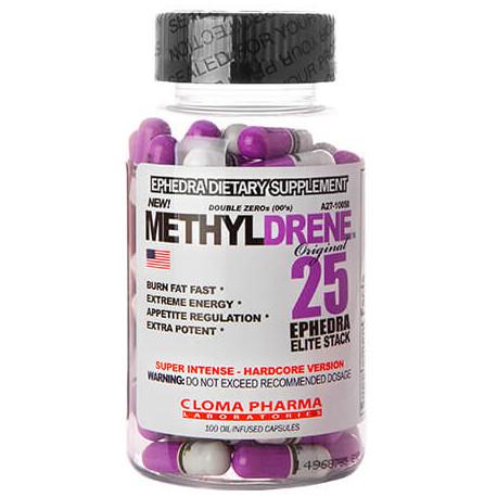 Methyldrene 25 Elite Cloma Pharma Ephedra