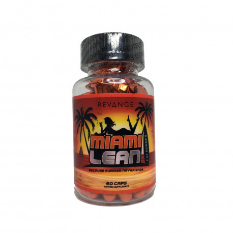 Miami Lean Revange Nutrition Old Formular