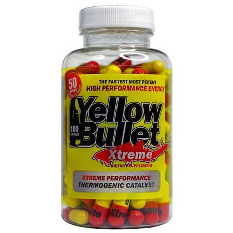 Xtreme Hard Rock Supplements Yellow Bullet