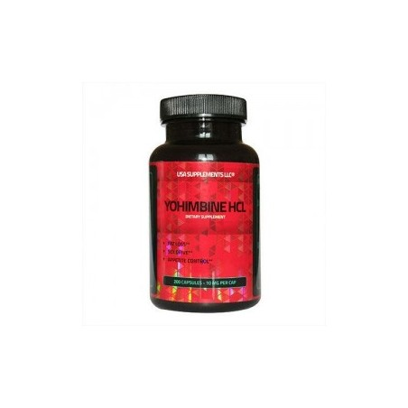 YOHIMBINE HCL 10MG USA SUPPLEMENTS LLC